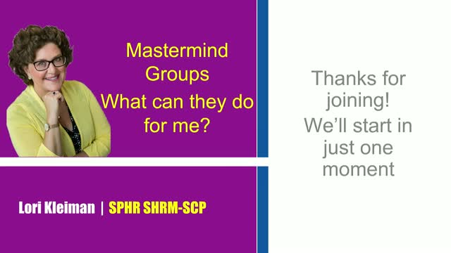 Mastermind: Groups for Success