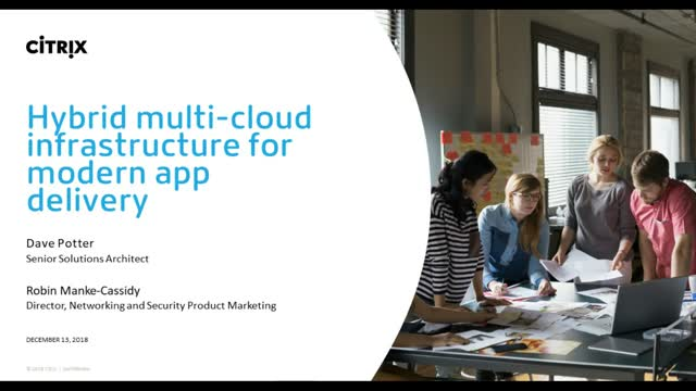 Hybrid multi-cloud infrastructure for modern app delivery