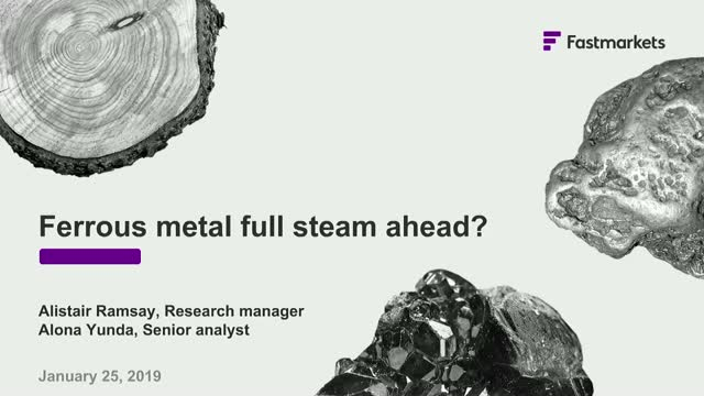 Ferrous metal, full steam ahead?
