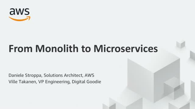 From Monolithic to Microservices