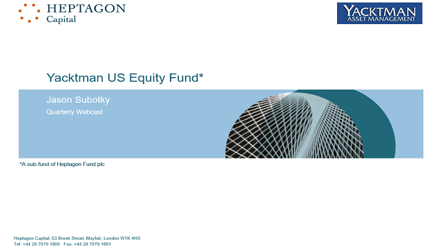 Yacktman US Equity Fund Q4 2018 Webcast