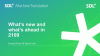 SDL Machine Translation 2019: What's New, What's Ahead