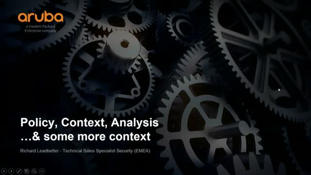 Policy, context, and analysis…and some more context