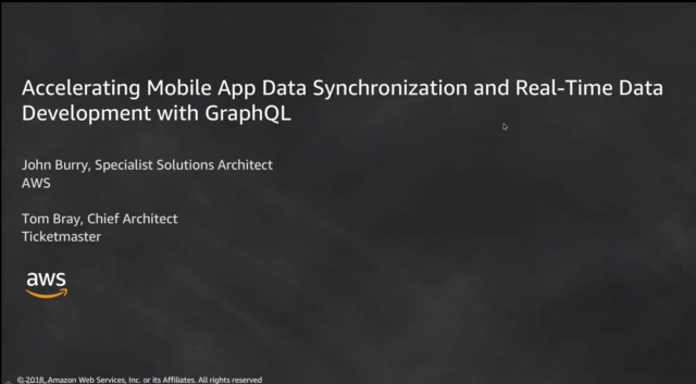 Accelerating Mobile App Data Synchronization with AWS AppSync and GraphQL
