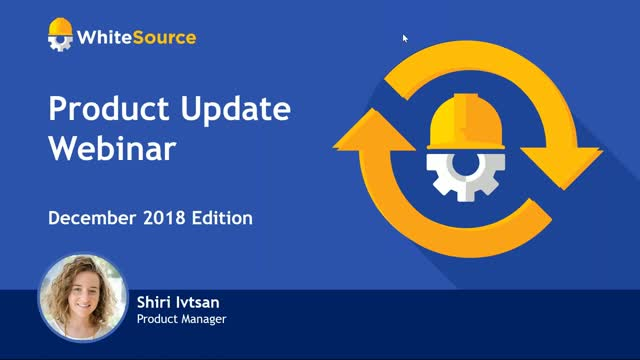 What's New With WhiteSource? December Product Update