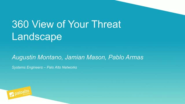 See a 360 view of YOUR threat landscape