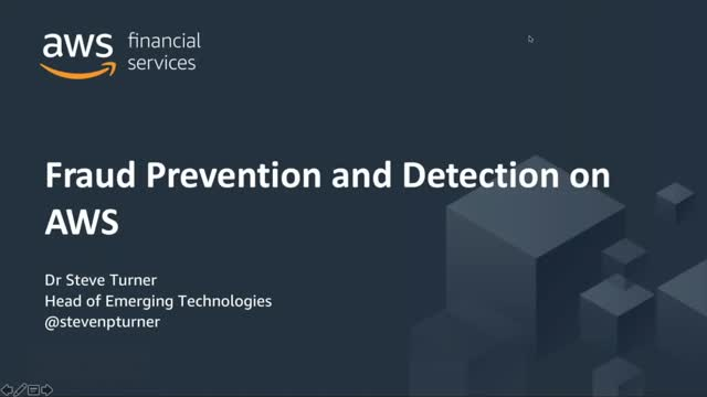 How to use Machine Learning & AWS for Fraud Prevention & Detection
