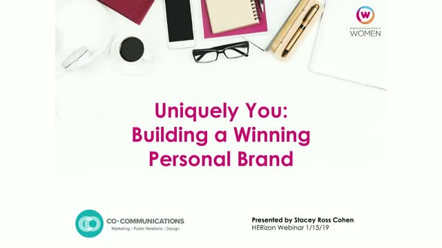 Uniquely You: Building a Winning Personal Brand
