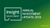 Insight Investment Annual Investment Update 2019