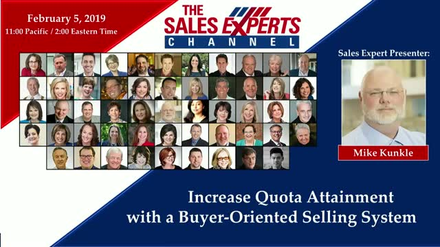 Increase Quota Attainment with a Buyer-Oriented Selling System