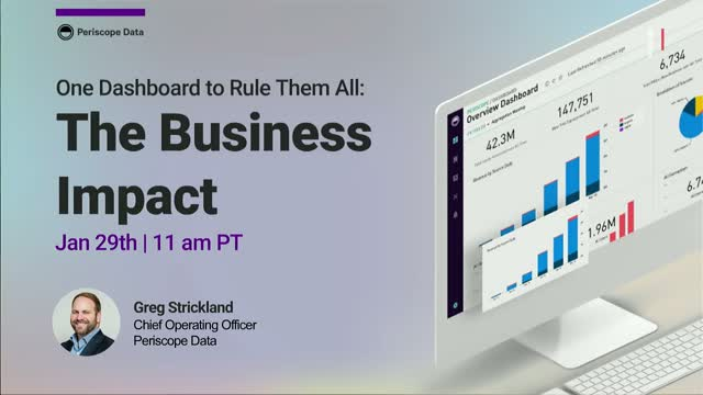 One Dashboard to Rule Them All: The Business Impact