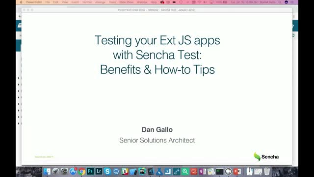 SNC - Testing your Ext JS apps with Sencha Test: Benefits & How-to Tips