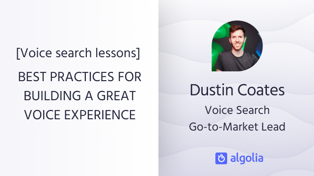 Voice search lessons: Implementing voice search in your business
