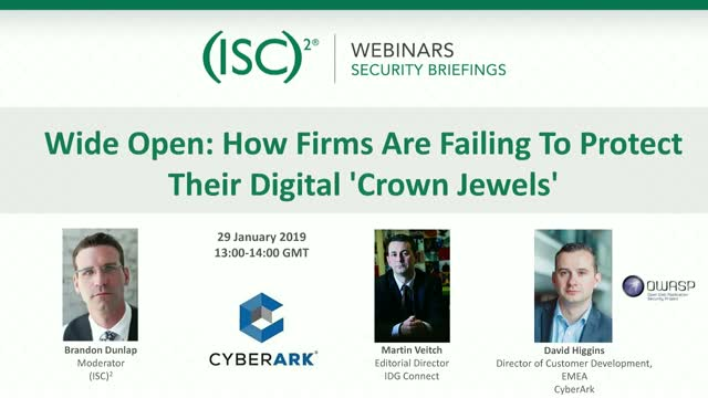 Wide Open: How Firms Are Failing To Protect Their Digital 'Crown Jewels'