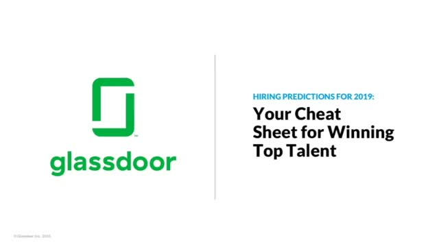 Hiring Predictions for 2019