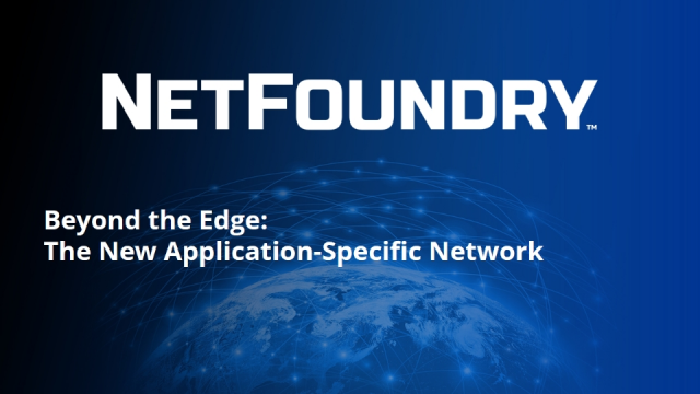 Beyond the Edge: The New Application-Specific Network