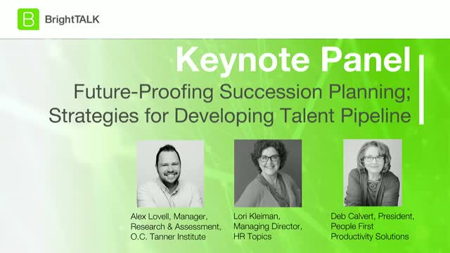 Future-Proofing Succession Planning; Strategies for Developing Talent Pipeline