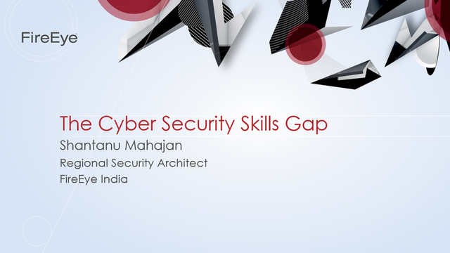 The Cyber Security Skills Gap