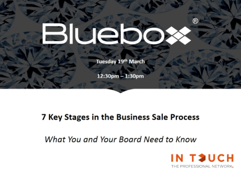 7 Key Stages in the Business Sale Process - What You and Your Board Need to Know