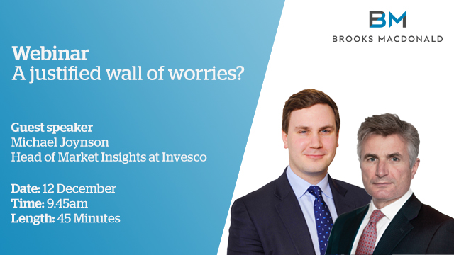 A justified wall of worries?