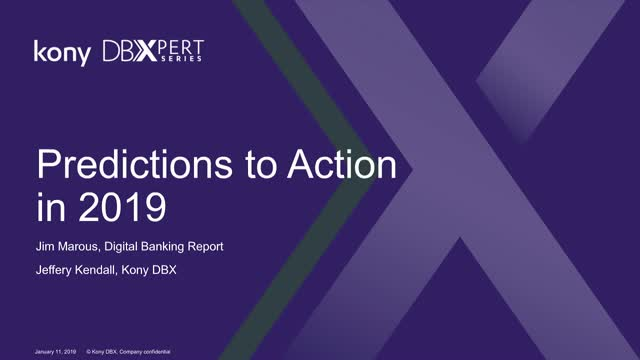 Predictions to Action in 2019