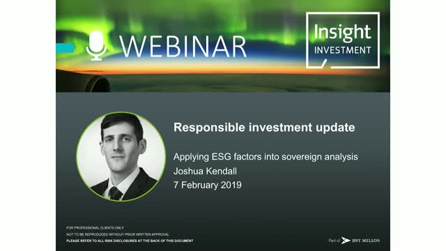 Insight's sovereign risk model: how sustainability impacts investment portfolios