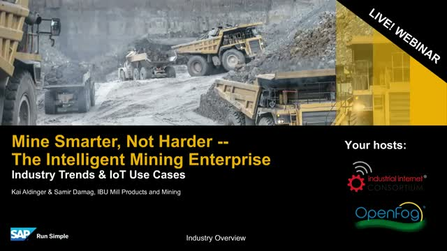 Intelligent Mining Enterprises -- Mine Smarter, Not Harder