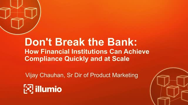 How Financial Institutions Can Achieve Compliance Quickly and at Scale