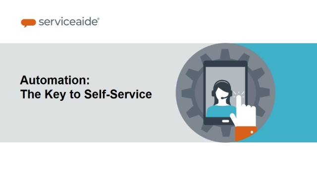 Automation: The Key to Self-Service