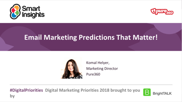 Email marketing predictions that matter!
