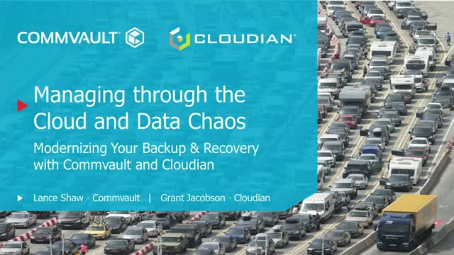 Managing Through the Cloud and Data Chaos