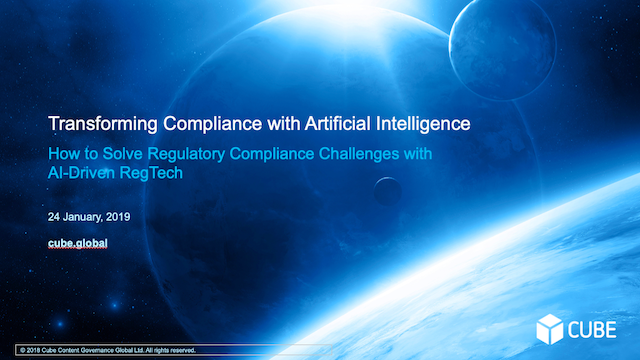 Transforming Compliance with Artificial Intelligence