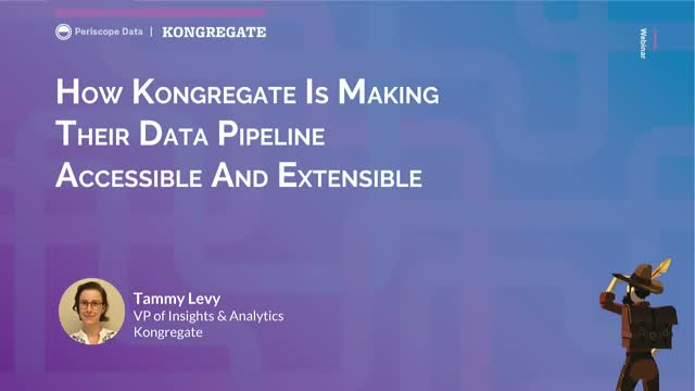 How Kongregate is Making Their Data Pipeline Accessible and Extensible
