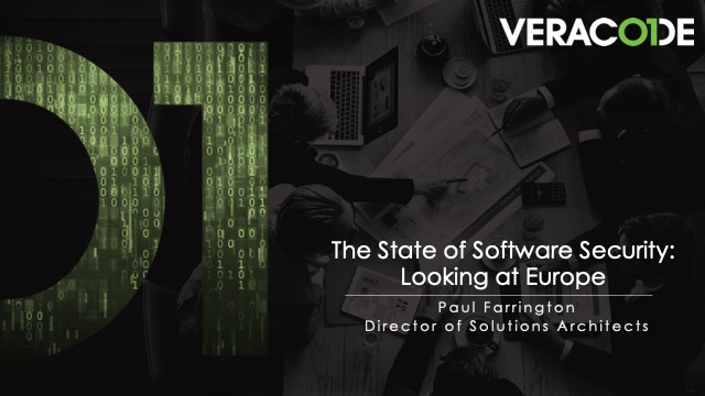 The State of Software Security: Looking at Europe