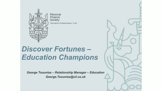 Education Champions - Discover Fortunes