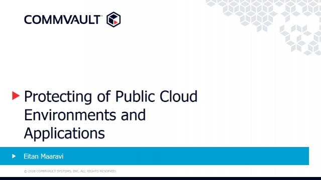 Protecting Public Cloud Environments and Applications