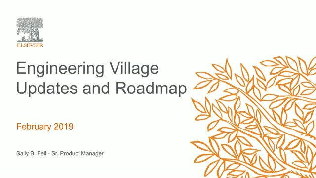 Take Charge of Engineering Research in 2019: Latest Engineering Village Updates