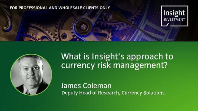 What is Insights approach to currency risk management?