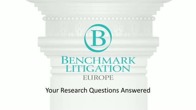 Benchmark Litigation Europe 2019 - Your research questions answered