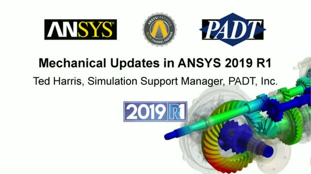 Mechanical Updates in ANSYS 2019 R1