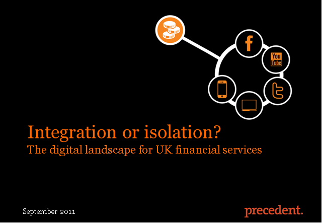 Integration or isolation? The Digital Landscape for UK Financial Services.
