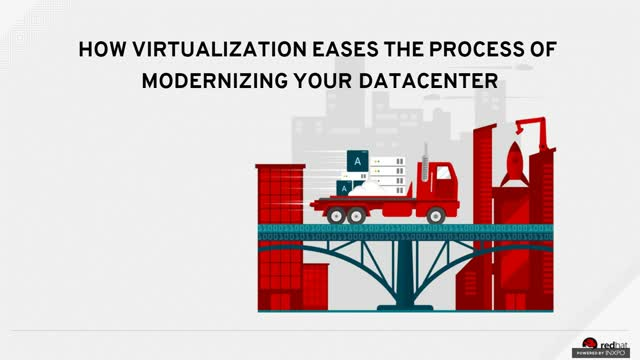 How virtualization Eases the Process of Modernizing Your Datacenter