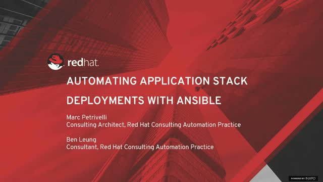 How to Automate Application Stack Deployments