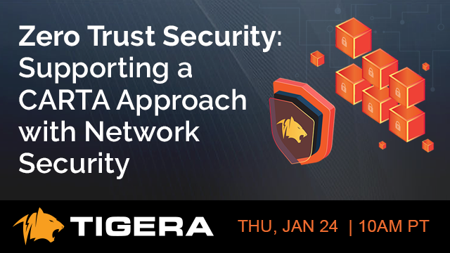 Zero Trust Security: Supporting a CARTA approach with Network Security