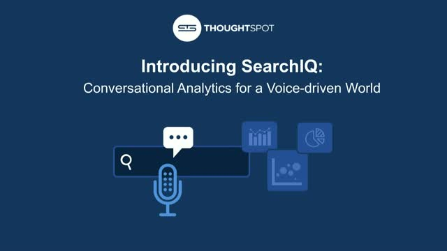 Conversational Analytics for a Voice-driven World