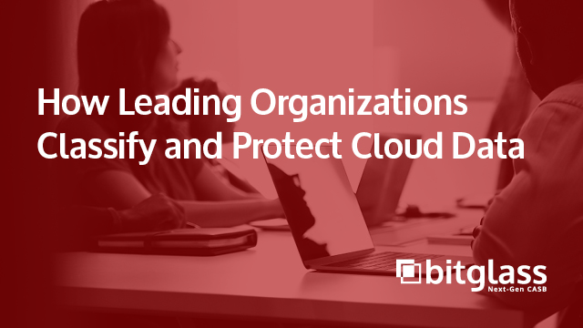 How Leading Organizations Classify and Protect Cloud Data