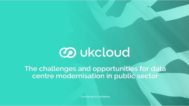 The challenges and opportunities for data centre modernisation in public sector.