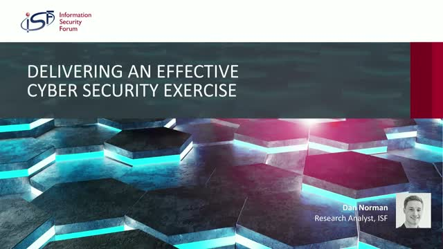 Delivering an Effective Cyber Security Exercise: Enhanced Breach Response