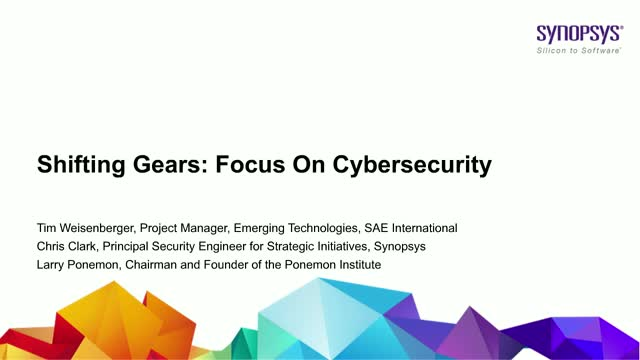 Shifting Gears: Focus on Cybersecurity