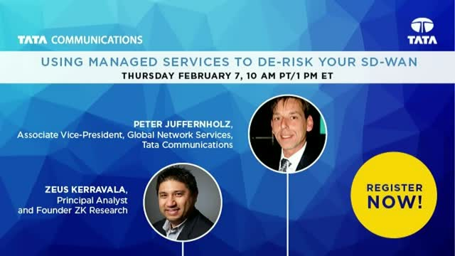 Using Managed Services to De-Risk your SD-WAN